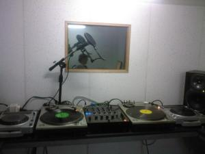 the ubradio studio